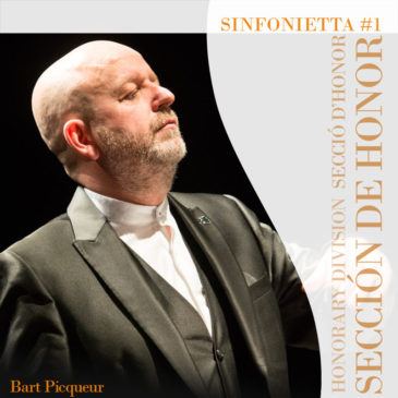 "The Honorary Division will premiere ""Sinfonietta #1"" by Bart Picqueur"