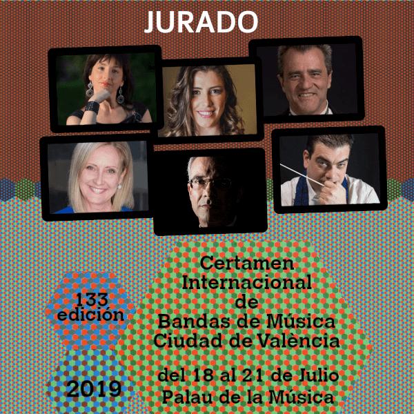 Jurado del 133 CIBM «Ciudad de Valencia»