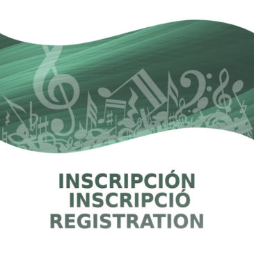 Incripción / Inscripció / Registration CIBM 2020
